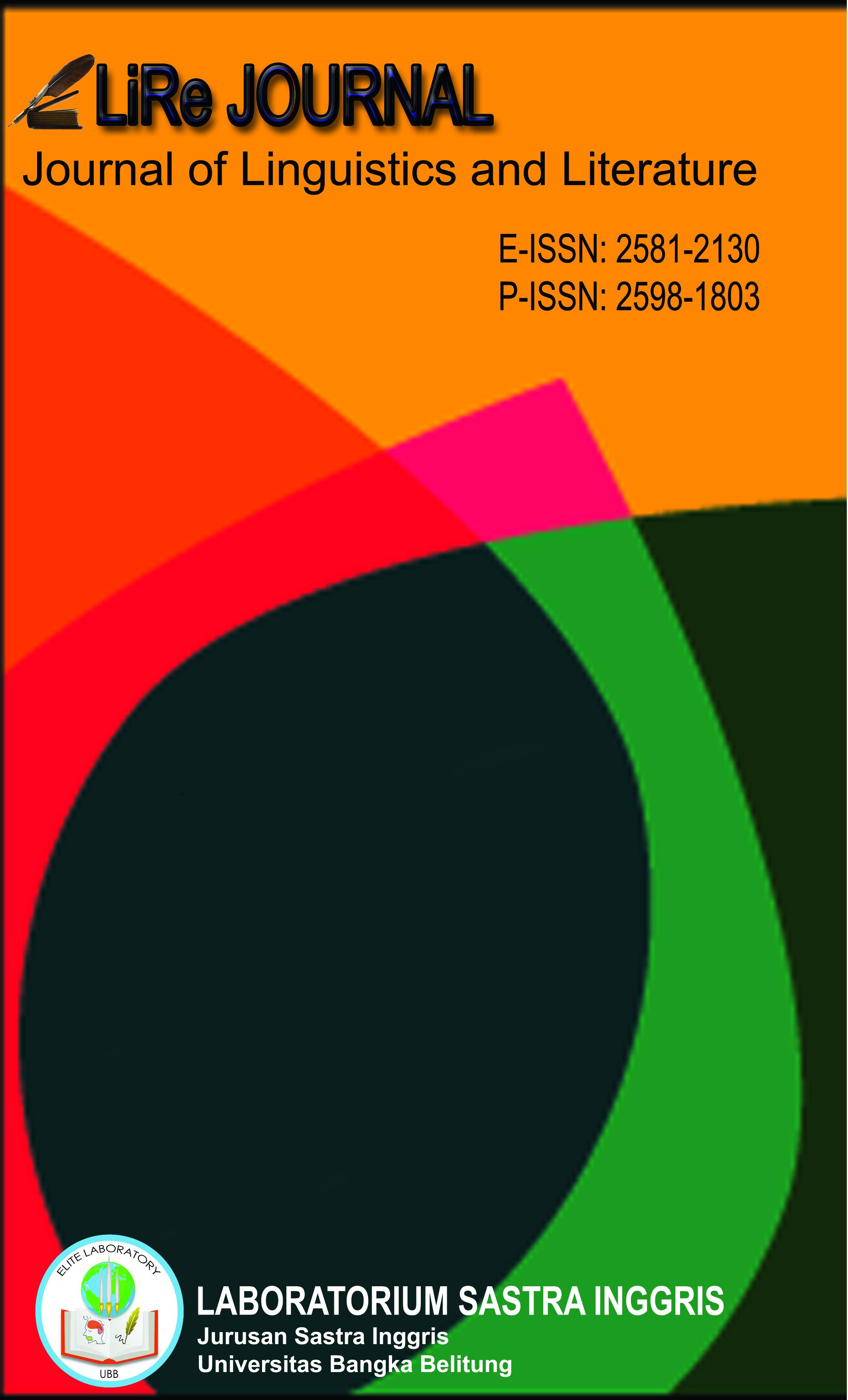 Lire Journal (Journal of Linguistics and Literature)